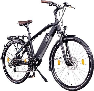 Bicicleta urbana eléctrica NCM Venice de 48 V y 28 pulgadas, color negro, con motor trasero de 250 W, batería de litio de 13 Ah y 624 Wh, DE248UI5700MB+MB4813H9517, Negro: Amazon.es: Deportes