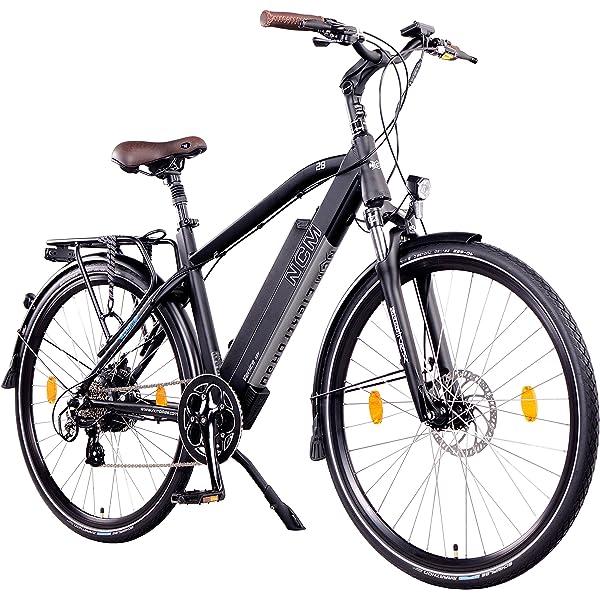 NCM Venice Bicicleta eléctrica de Trekking, 250W, Batería 48V 13Ah 624Wh, 28
