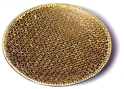 Mosaico de Vidrio Redondo – tazón Decorativo para Todas Las bandejas – Plato 0af7427d77df