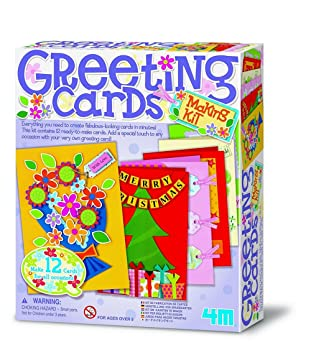 4m make your own greeting cards amazon toys games 4m make your own greeting cards m4hsunfo