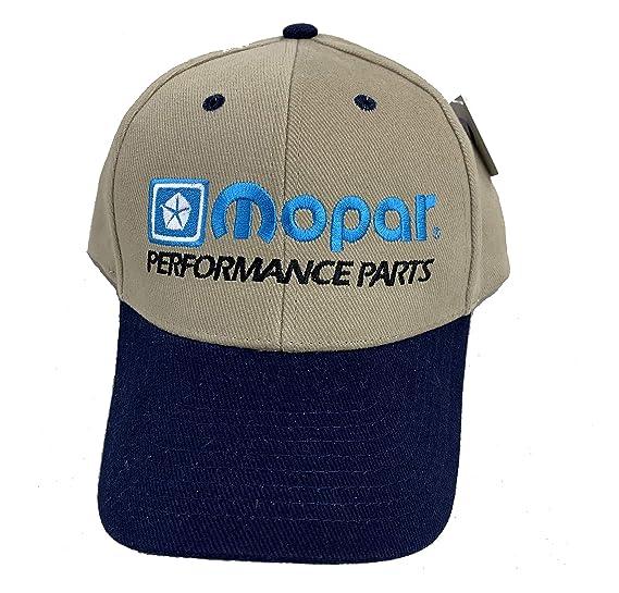 4716af62 Amazon.com: Mopar Classic Car Hat Cap (Khaki/Black): Clothing