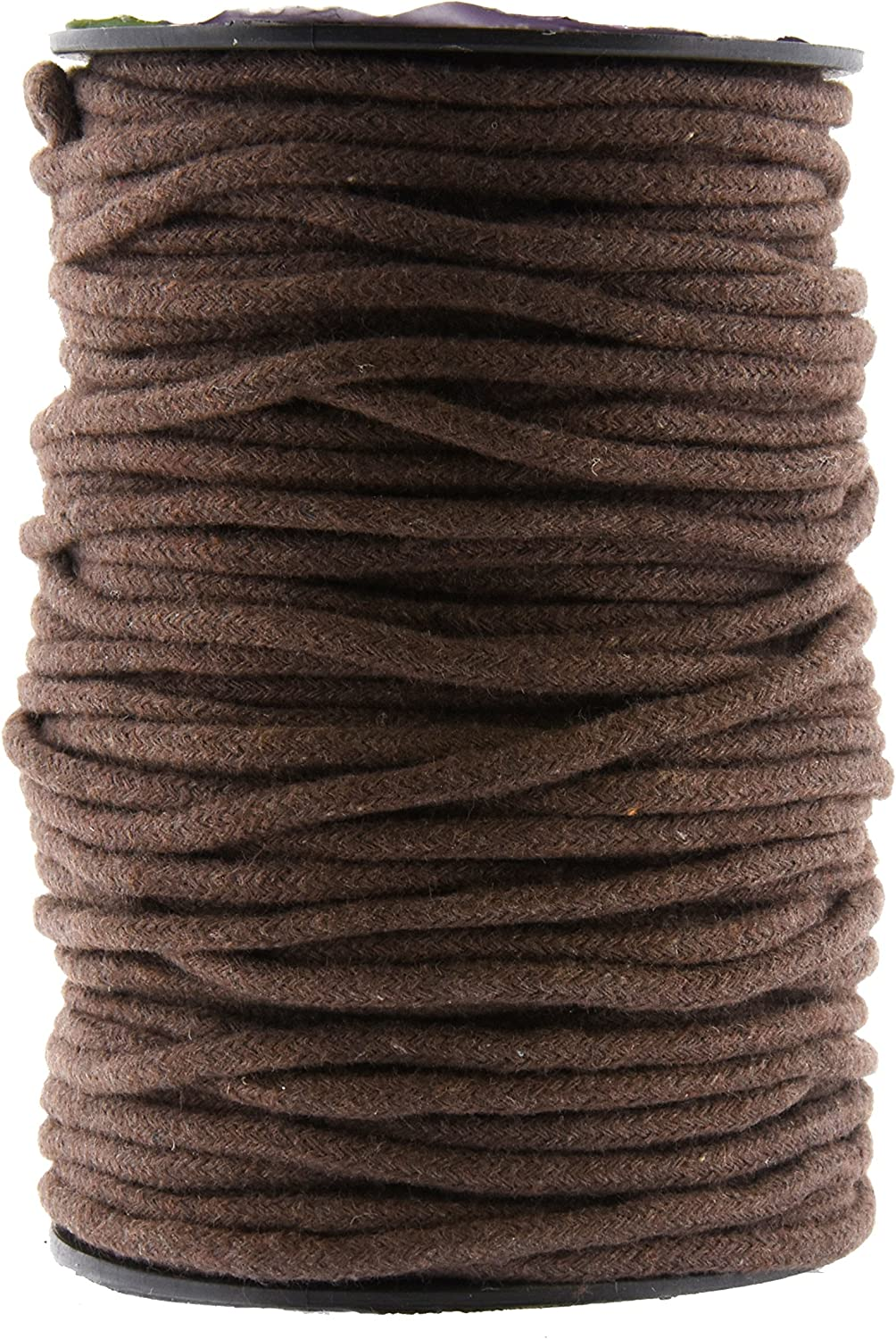 Natural Cotton Twine Braided Rope Piping Cord Sash String Craft T