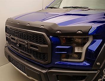 2015-2019 Ford F150 F-150 Smoke Color Bug Shield Deflector Hood Guard Protector