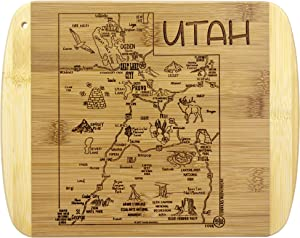 Totally Bamboo A Slice of Life Utah Bamboo Serving and Cutting Board