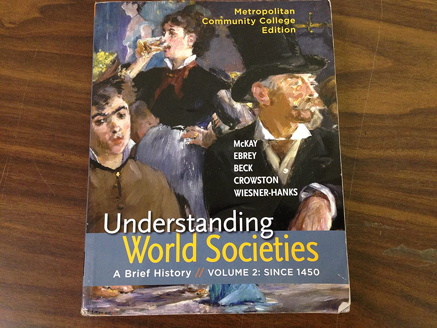 Amazon.com: Metropolitan Community College Edition, Uderstanding World  Societies, A Breif History Volume 2 scince 1450: Health & Personal Care