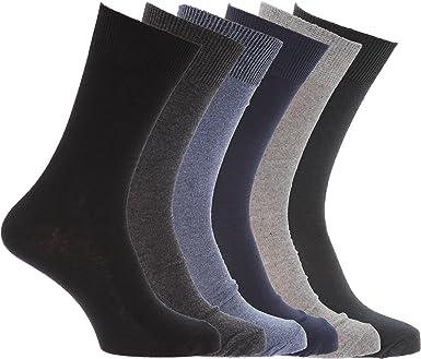 Calcetines de lycra con alto porcentaje de algodón hombre ...