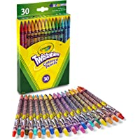 Crayola Twistables Colored Pencils, 30 Count, Stocking Stuffer, Gift