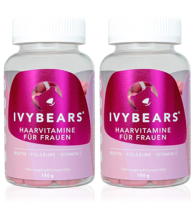 Ivybears Haar Vitamine Vollgepackt Mit Biotin Folsäure