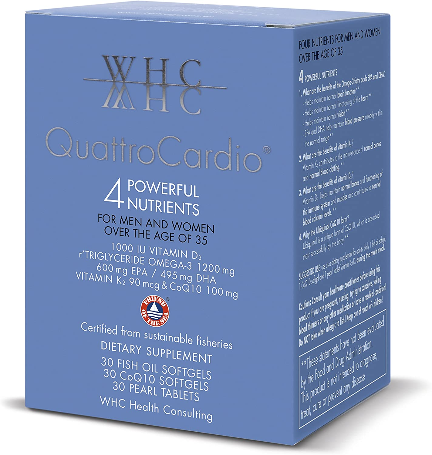 QuattroCardio – 4 Powerful Nutrients