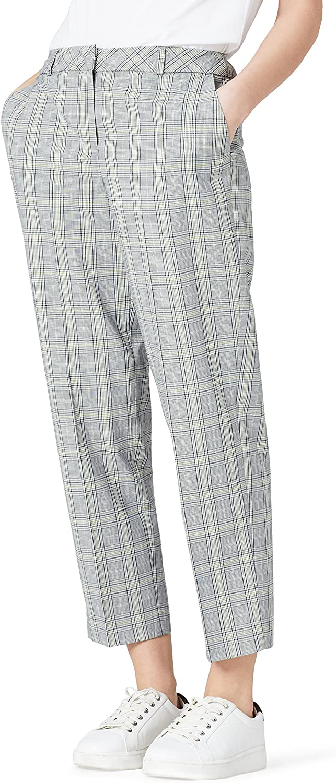 Marca Amazon - find. Pantalones de Cuadros Mujer