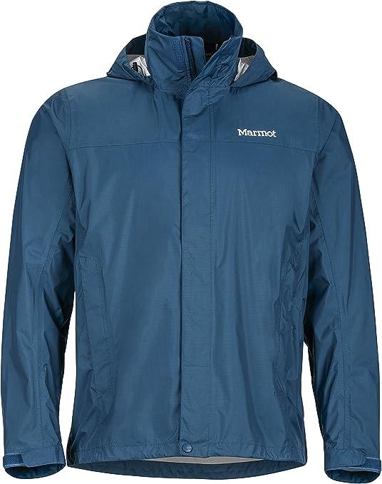 Marmot Men/'s PreCip Lightweight Waterproof Jacket Cinder