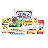 Woodstock Candy Gift Box for 1963 55th Birthday Jr - Retro Nostalgic Candy Assortment 55 Year Old Man or Woman will Remember from Childhood. Delicious Blast from the Past