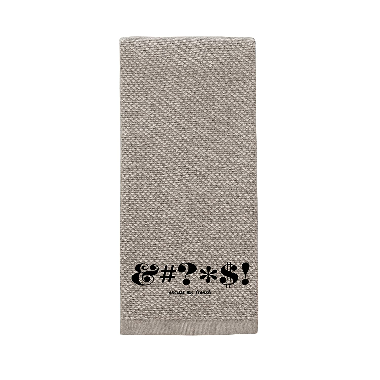 Kate Spade Expletive Kitchen Towel, 17 x 28