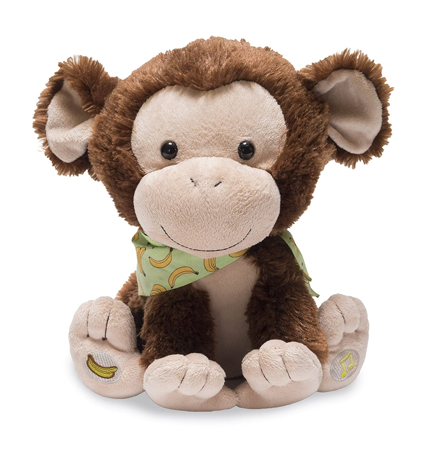Soft toy monkey with your own hands