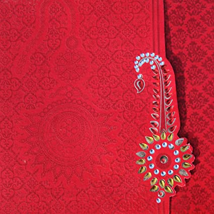 Yash Wedding Cards For Indian Shadi Amazon In Home Kitchen