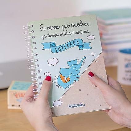 La Mente es Maravillosa - Cuaderno A5 (Si crees que puedes ...