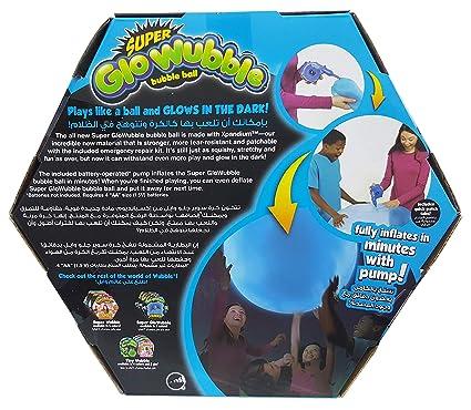 Buy Wubble Bubble Amazing Super Glo Wubble Ball With Pump