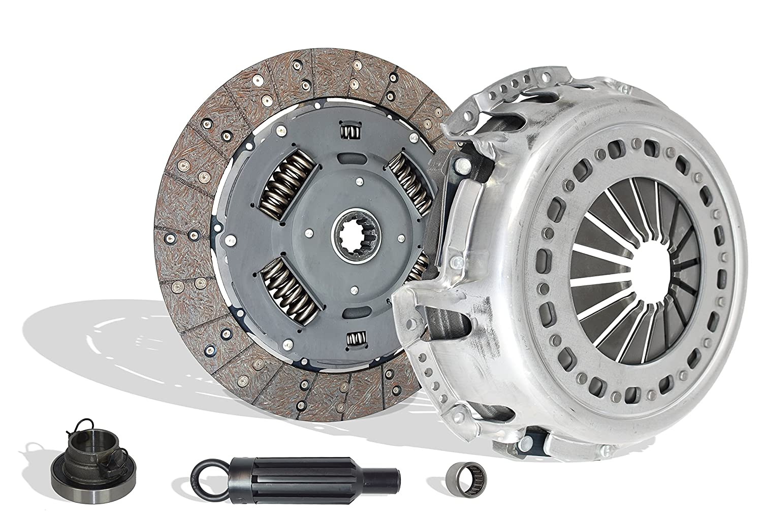 Clutch Kit Works With Dodge RAM 2500 3500 Laramie SLT ST Base 2001-2005 5.9L l6 DIESEL OHV Turbocharged (Stage 3; FITS UP TO JANUARY 24, 2005; CUMMINS TURBO DIESEL;6 SPEED TRANSMISSION ONLY) Southeast Clutch 05-101FW