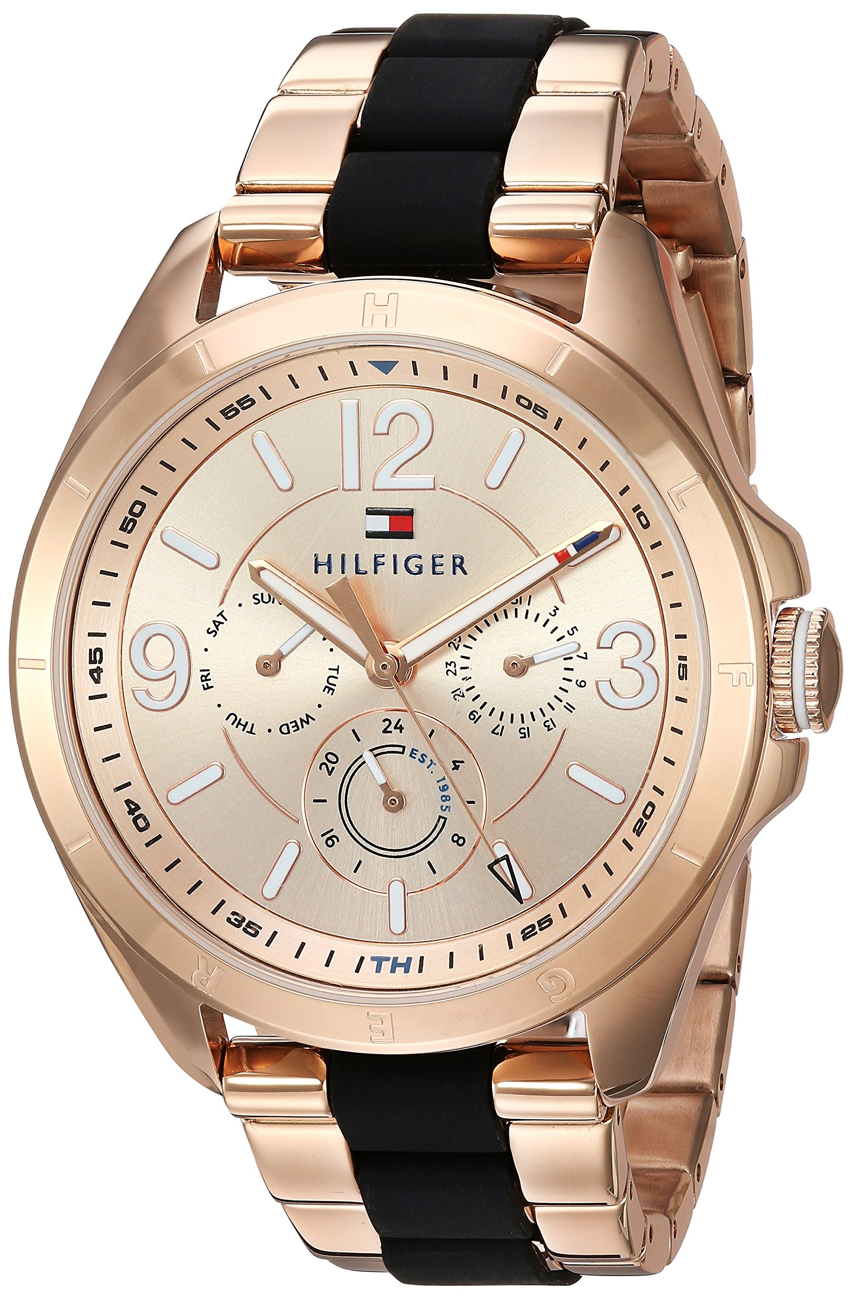Tommy Hilfiger Women's 'SOPHISTICATED SPORT' Quartz and Stainless Steel Casual Watch, Color:Rose Gold-Toned (Model: 1781770) by Tommy Hilfiger