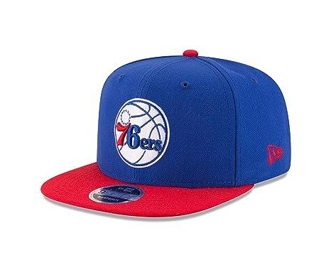 6bf4b13d2d511 Amazon.com   New Era NBA Philadelphia 76ers Men s 9Fifty Original Fit 2Tone Snapback  Cap