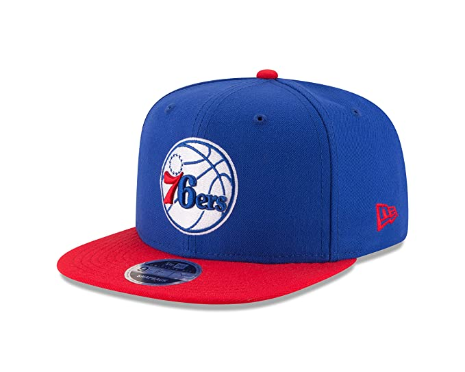 the latest 58695 90e37 Image Unavailable. Image not available for. Color  New Era NBA Philadelphia  76ers Men s 9Fifty Original Fit 2Tone Snapback Cap ...