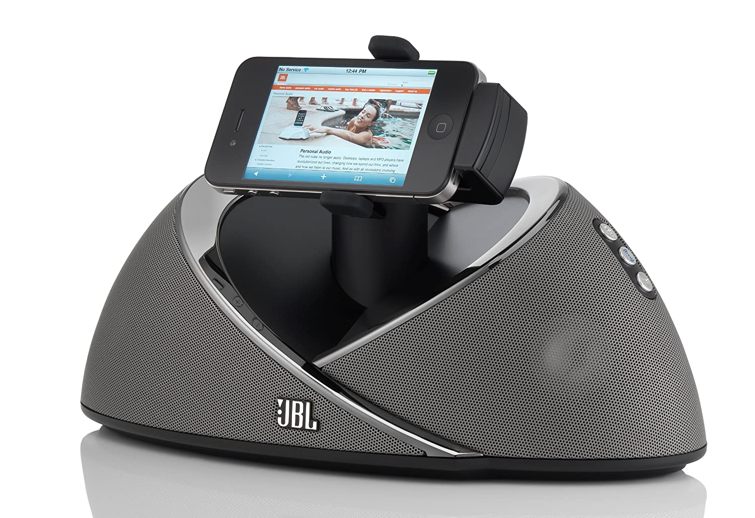 jbl iphone speaker. Amazon.com: JBL OnBeat Air IPad/iPod/iPhone Speaker Dock With AirPlay (Discontinued By Manufacturer): Home Audio \u0026 Theater Jbl Iphone R