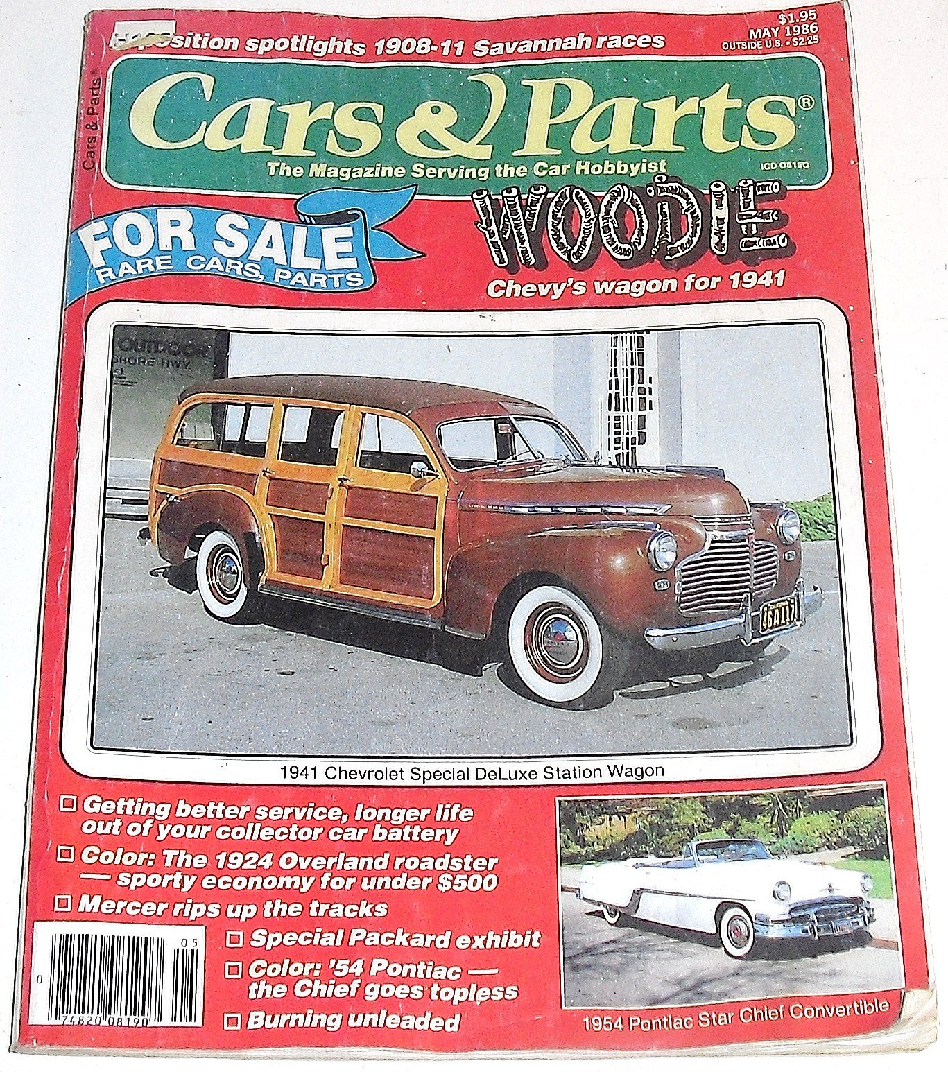 Cars And Parts The Magazine Serving Car Hobbyist May 1986 1941 Pontiac Star Chief Various Books
