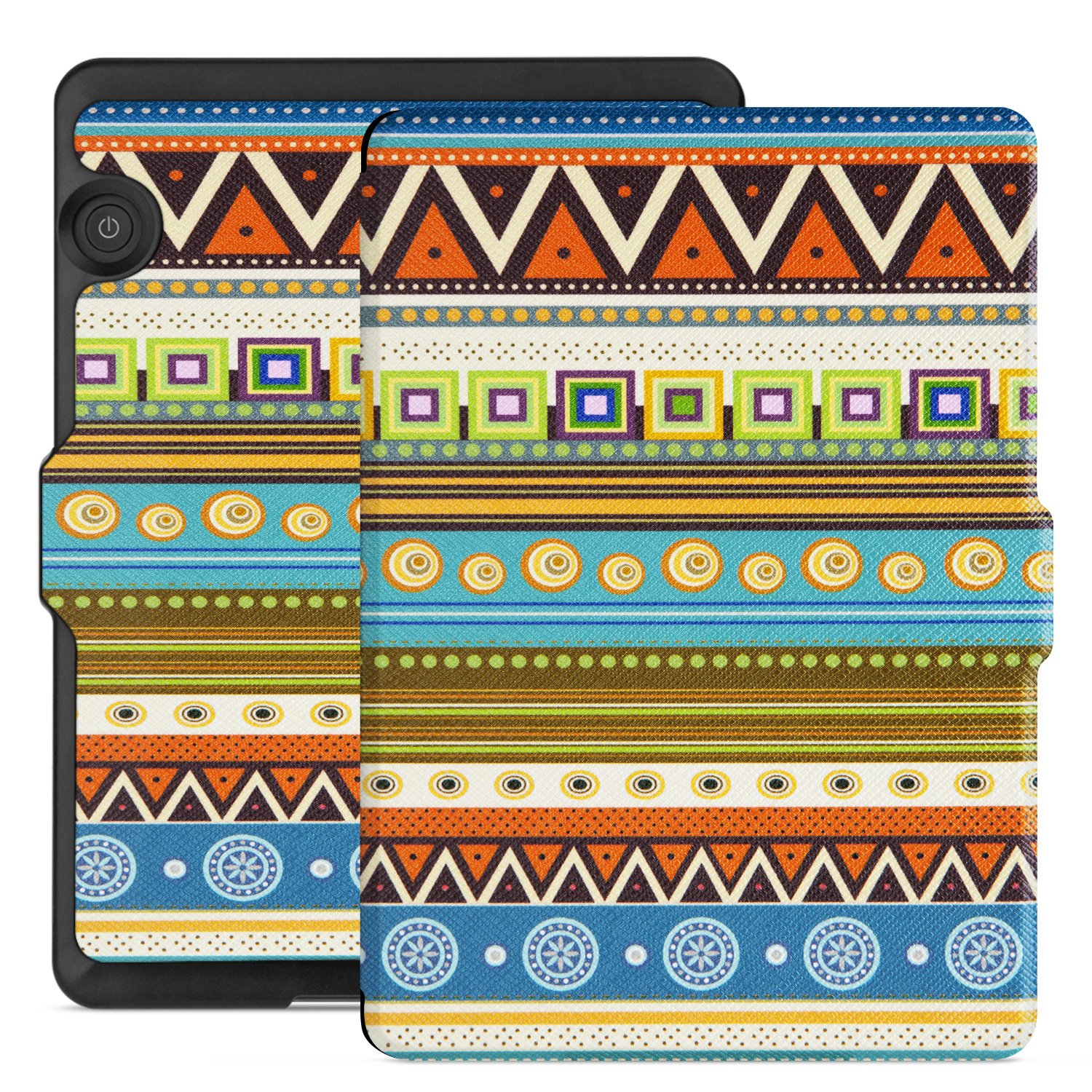 Ayotu Case for Kindle Voyage E-reader Auto Wake and Sleep Smart Protective Cover, For 2014 Kindle Voyage Case Painting Series KV-04 The Totem