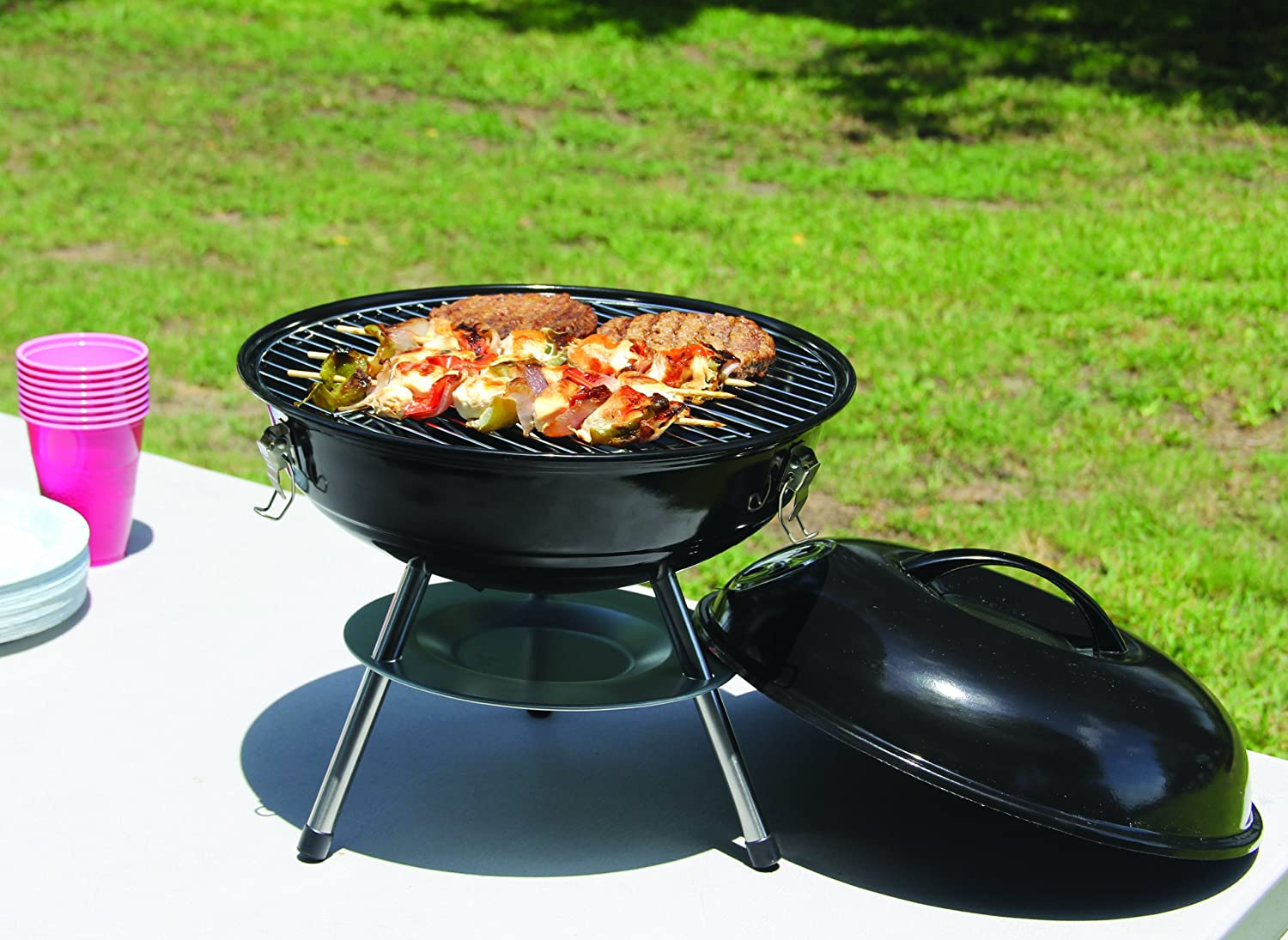 Image result for Small Charcoal Grill