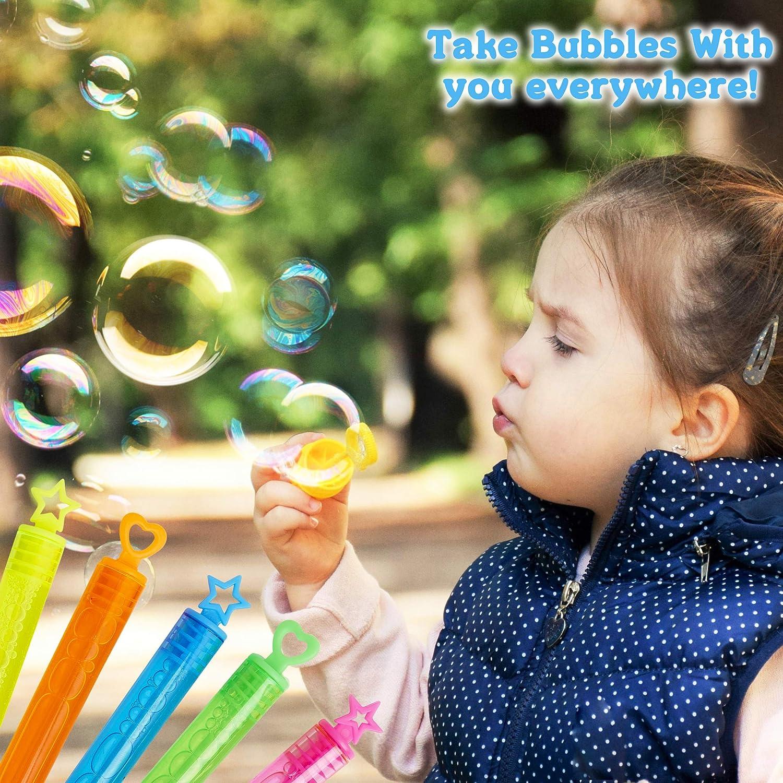 1 x Enfants Filles Garçons Anniversaire Mariage Fête Bulles Tubes Sac Remplissage faveur Toys