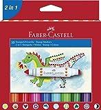 Faber Castell 155170 Lot de 10 Tampons Marqueur Grip Colour