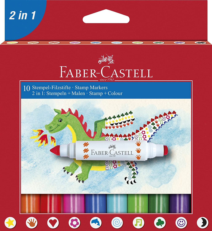 Faber Castell 155170 Pennarello, 10 Faber-Castell
