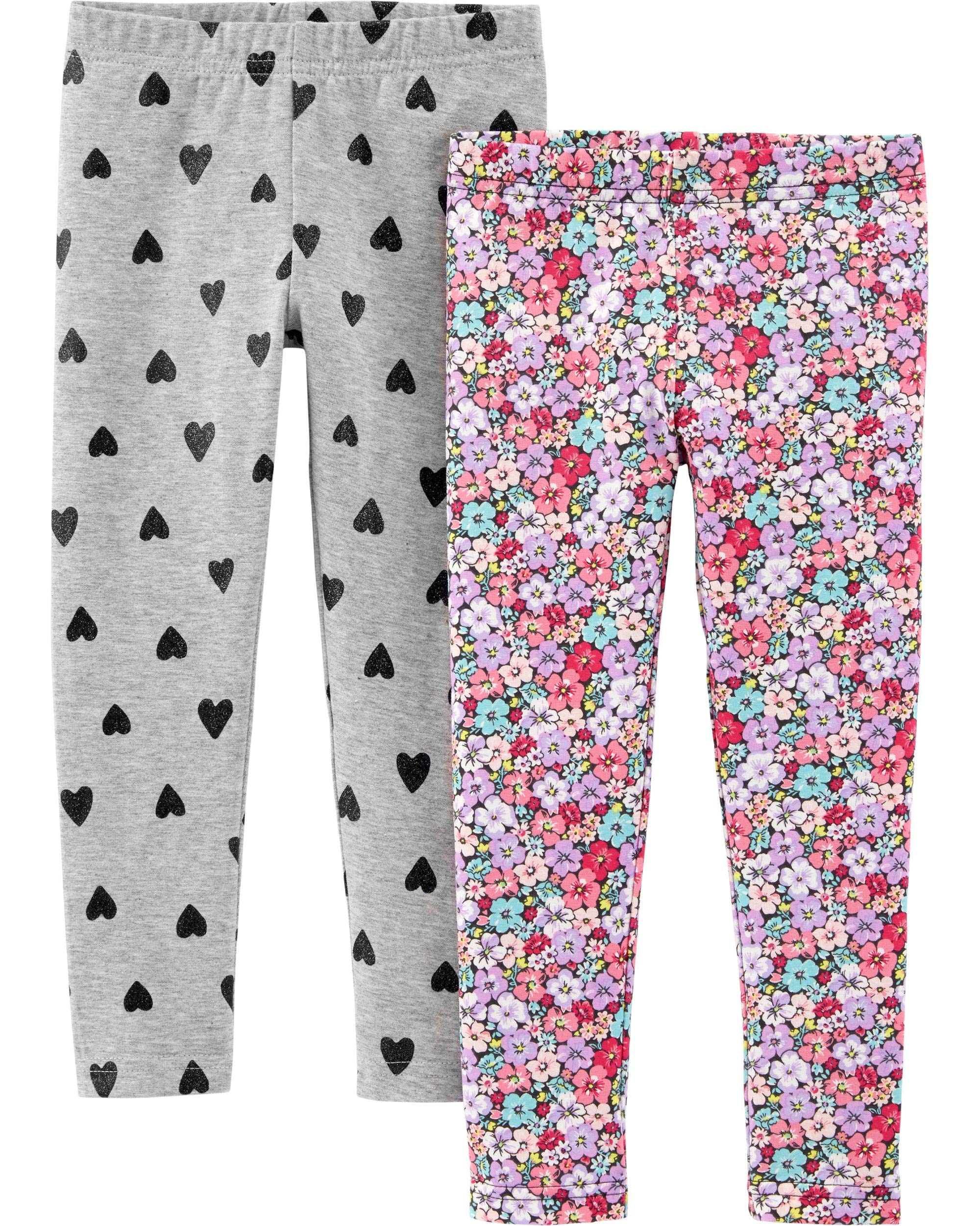 Carter's Girls' 2-Pack Leggings