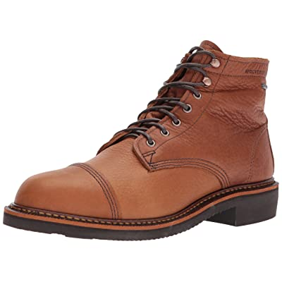 "Wolverine Men's Jenson Made in USA 6"" Waterproof Boot Winter   Boots"