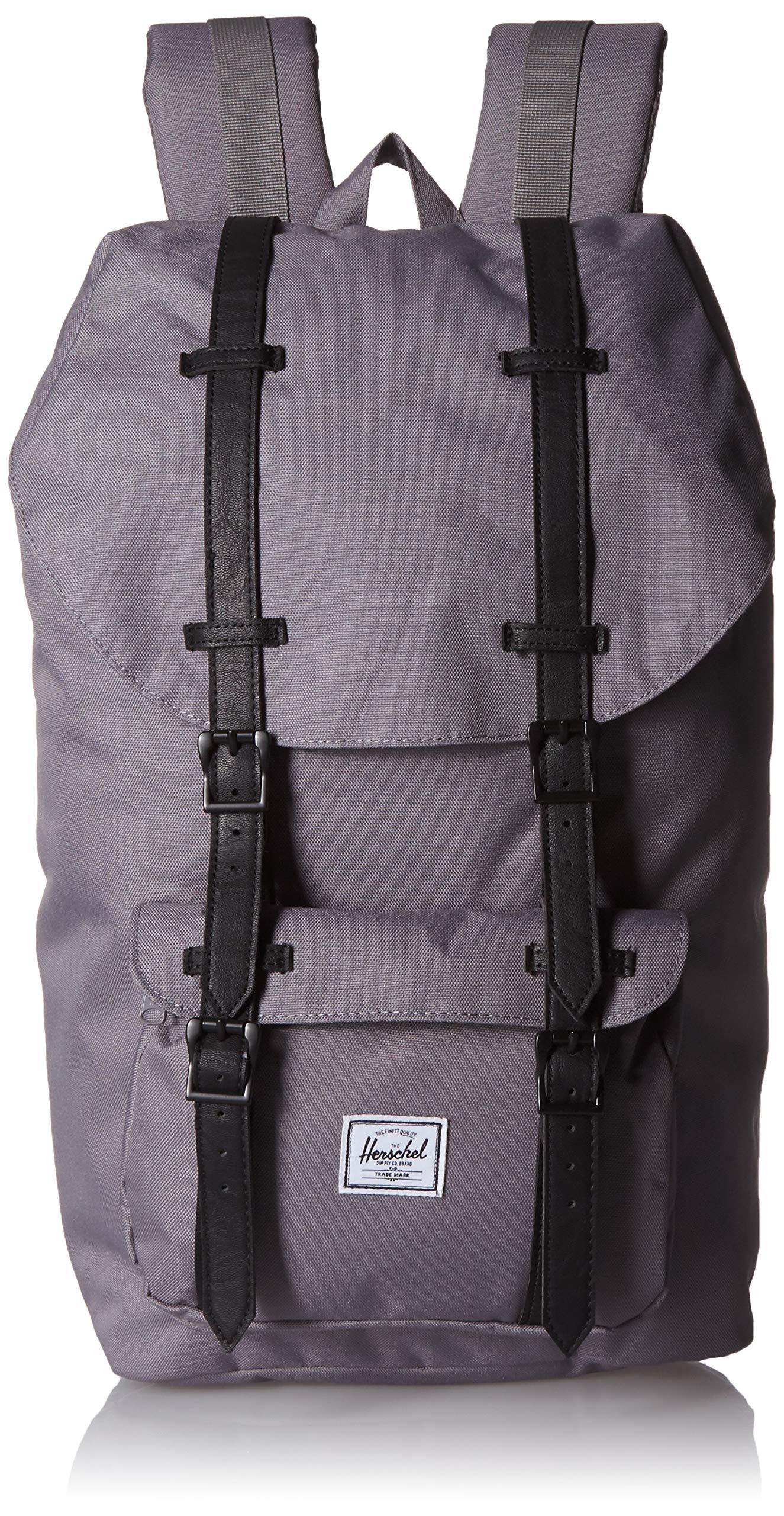 Herschel Little America Backpack, Grey/Black, One
