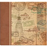 MCS MBI 13.5x12.5 Vintage Travel Scrapbook Album with 12x12 Inch Pages (860110)