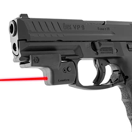 LASERLYTE Laser Sight Trainer for PICATINNY RAIL  LASER DOT for fast aim   LASER TRAINER for firearm training  PUSH BUTTON activation for simple use