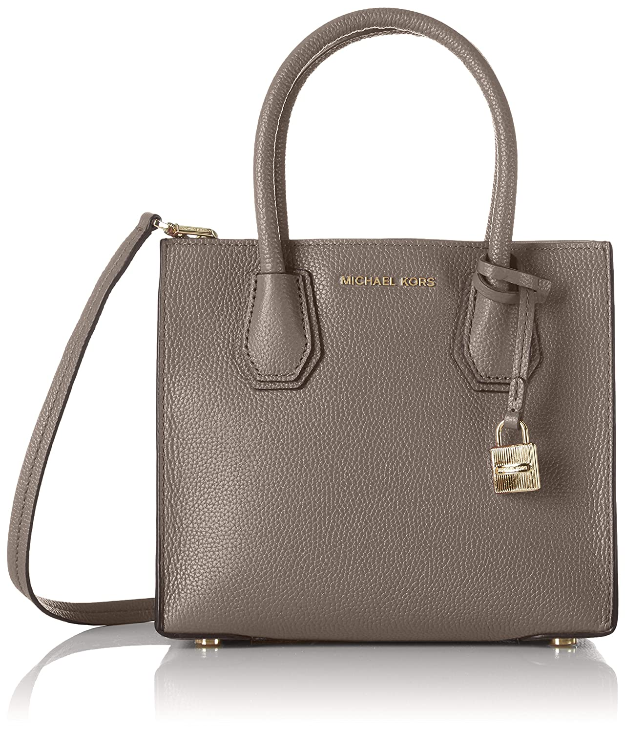 1fdd59ec51c Michael Michael Kors Women s Mercer Medium Shoulder Bag Grau (Cinder), 22 x  19 x 10 cm  Amazon.co.uk  Shoes   Bags