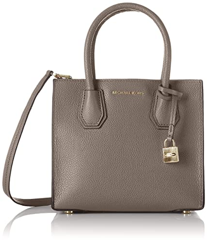a470bef85dc Michael Michael Kors Women s Mercer Medium Shoulder Bag Grau (Cinder), 22 x  19