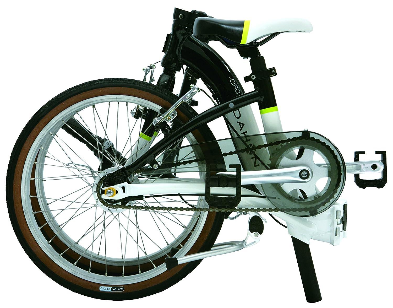 Dahon Ciao D7 - Bicicleta plegable, color blanco: Amazon.es: Deportes y aire libre