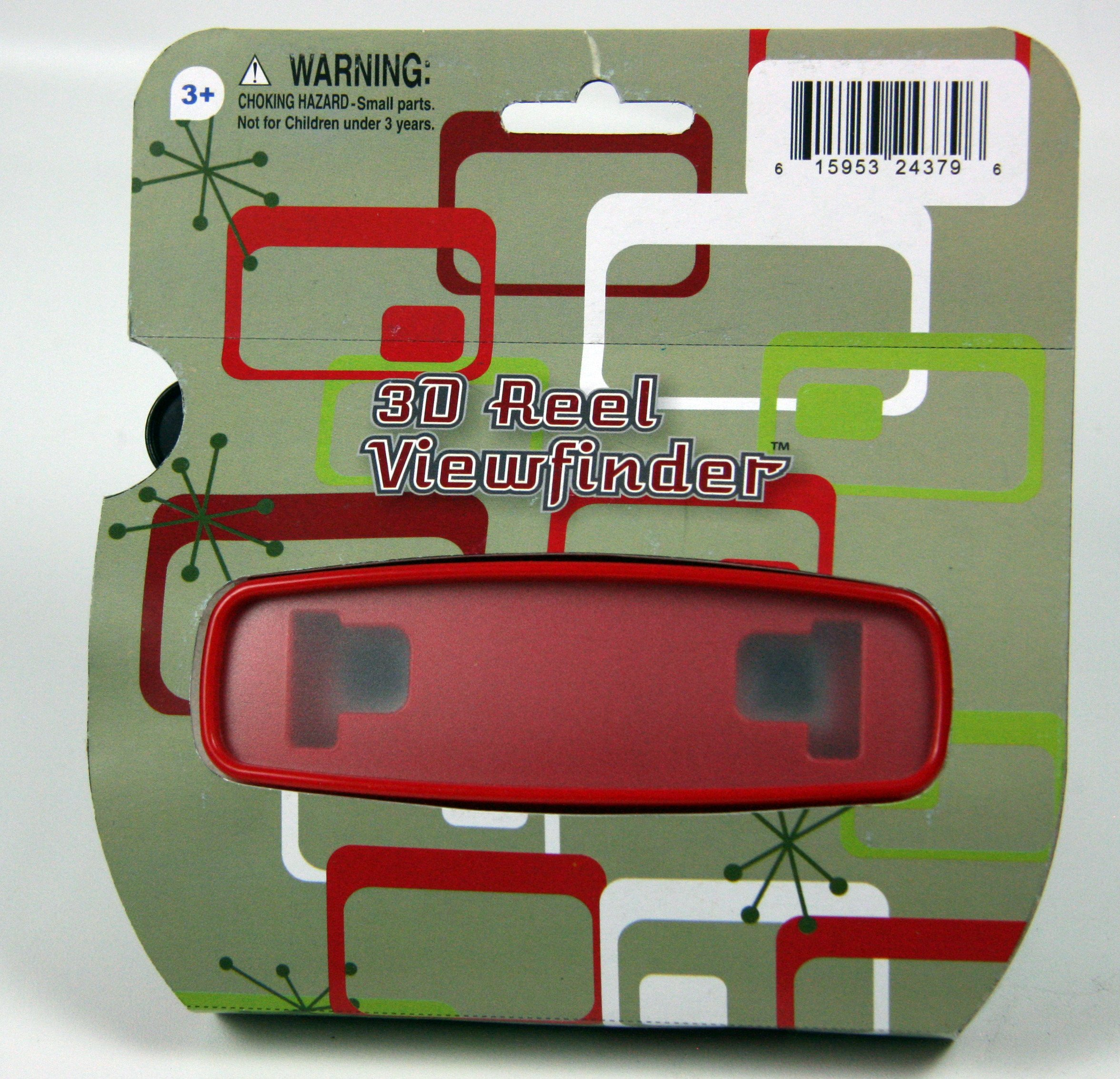 Classic Viewmaster Viewer 3D Model L in RED
