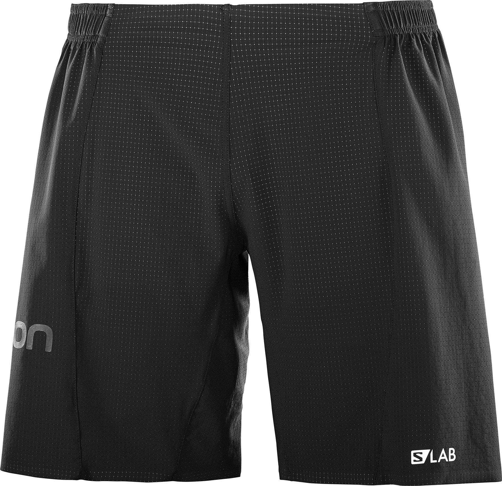 Salomon Men's S-Lab 9'' Shorts, Black, M