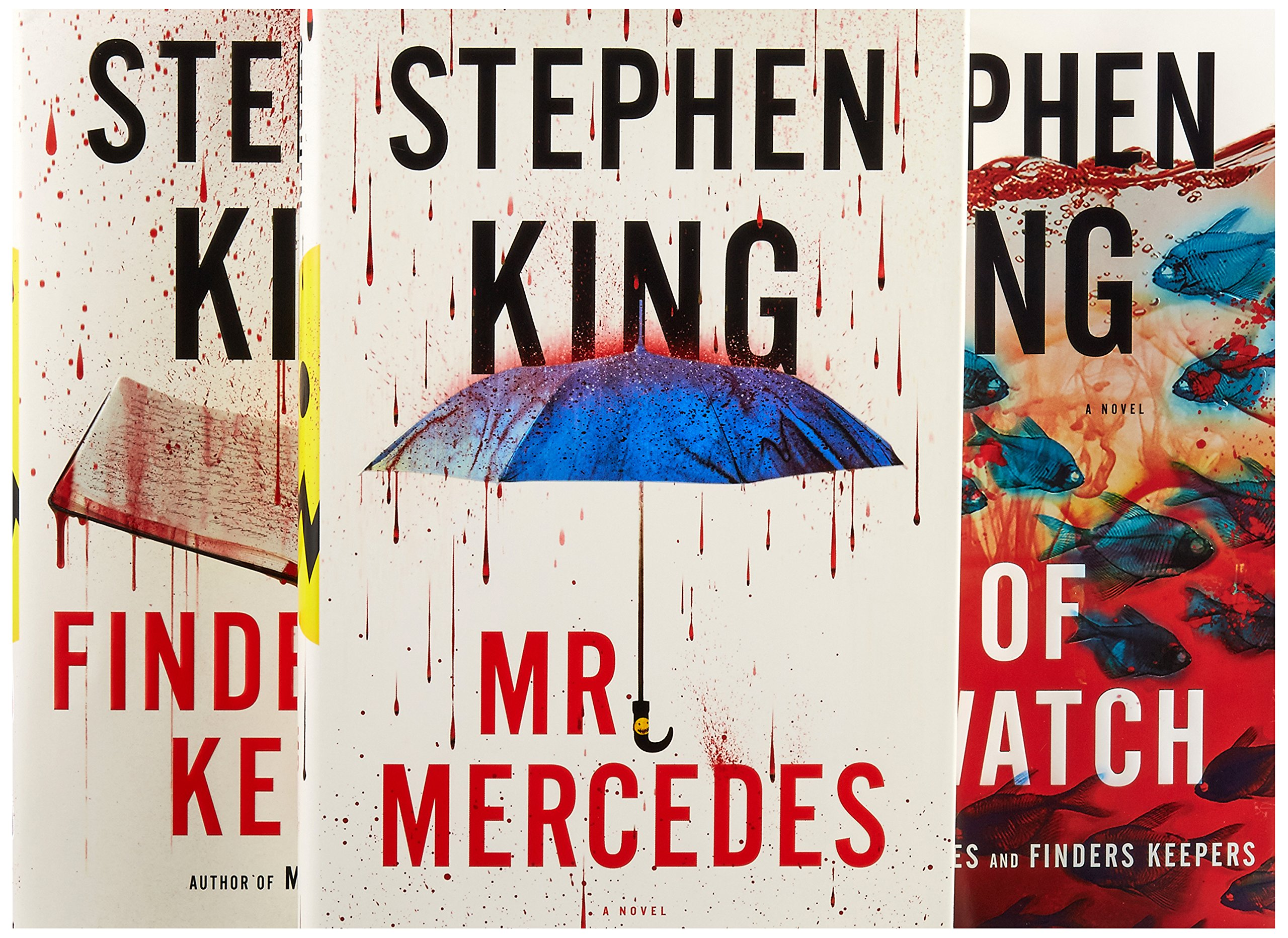 The Bill Hodges Trilogy Boxed Set: Mr. Mercedes, Finders Keepers, and End of Watch by Scribner