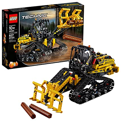 LEGO Technic Tracked Loader 42094 Building Kit, New 2019 (827 Pieces)