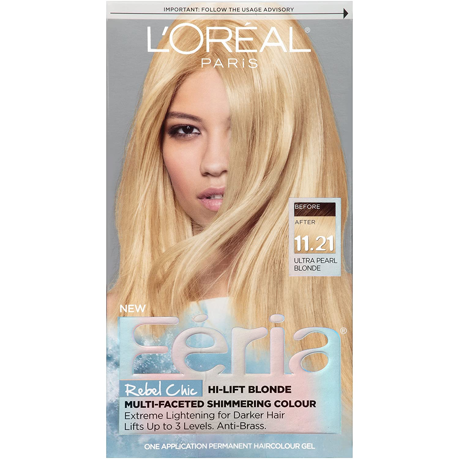 The look at home using l oreal paris feria smokey pastels in p2 smokey - Buy L Oreal Paris Hair Color Feria Dye Black White Ultra Pearl Blonde 11 21 Online At Low Prices In India Amazon In