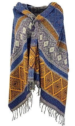 Herren//Damen Schultertuch Gold Guru-Shop Seidig Gl/änzender Indischer Pashmina Schal//Stola Schals Alternative Bekleidung Seide Size:One Size