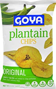 Goya Foods Plantain Chips, 5-Ounce (Pack of 12)