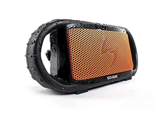 Amazon.com  ECOXGEAR ECOXBT Rugged and Waterproof Wireless Bluetooth  Speaker (Orange)  ecoXgear  Home Audio   Theater 20ce7bf352