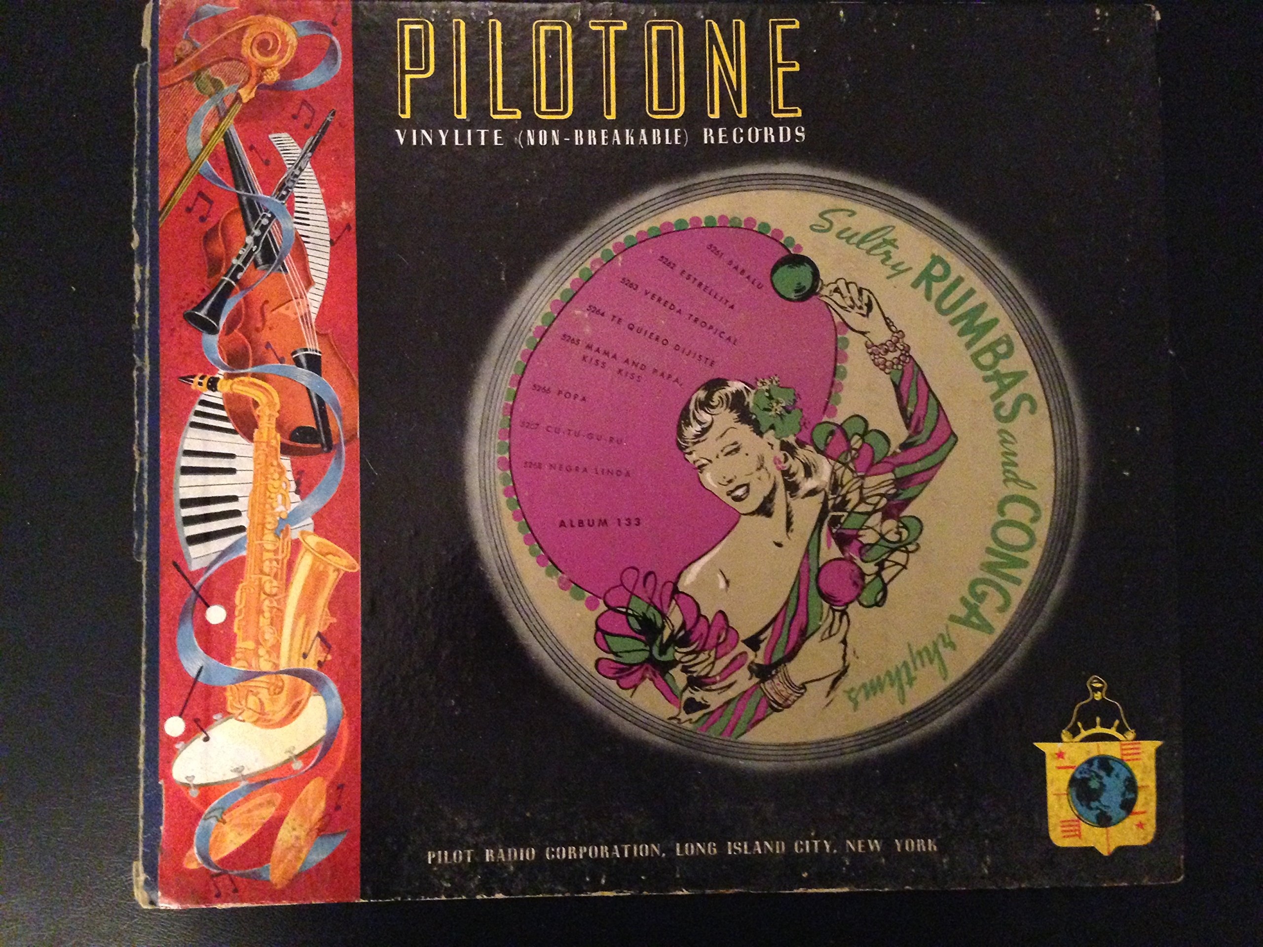 Sultry Rumbas and Conga Rhythms by Pilotone Records