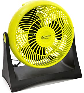 Comfort Zone 8-Inch Turbo High Velocity Fan